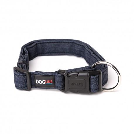Collar Denim - Grande Por: Dogline - Envío Gratis