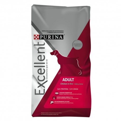 Excellent® Adult Dog Chicken & Rice - Envío Gratis