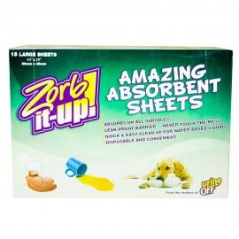 Zorb It-Up Hojas Absorbentes