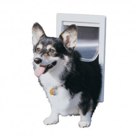 Puerta para perros 7 x 11 - Puerta vaiven para perros ...