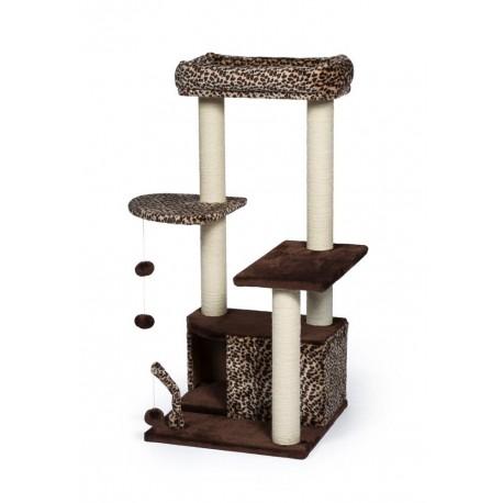 Torre para Gato Kitty Leopard Lounge - Envío Gratis