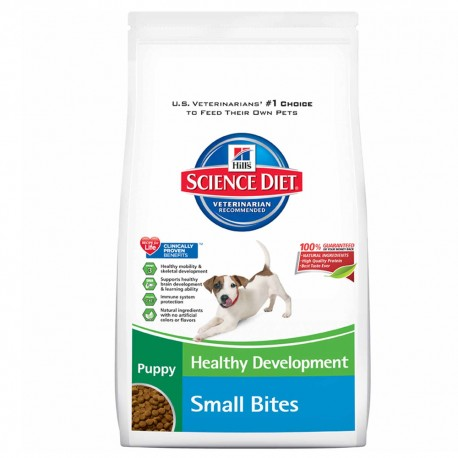 OUTLET: Puppy Small Bites 7 kg - Envío Gratis