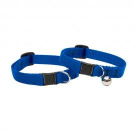 """Collar con Cascabel 1/2"""" Blue - Envío Gratis"""