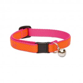 "Collar con Cascabel 1/2"" Sunset Orange"