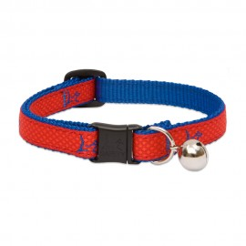 "Collar con Cascabel 1/2"" Derby Red"