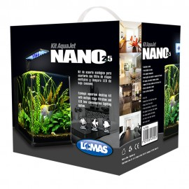 Acuario AquaJet Nano - Envío Gratis