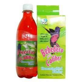 Bebedero Colibri con Líquido - Envío Gratis