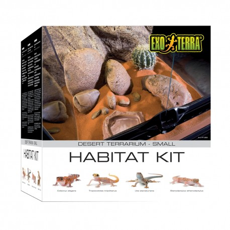 Exo-Terra: Kit Habitat Desierto - Envío Gratis