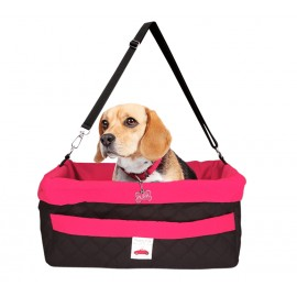 Asiento Doggy Car Rosa