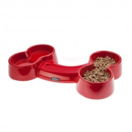 Bowl Hueso Apple Red