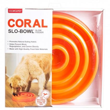 Plato Slo-Bowl Coral - Envío Gratis