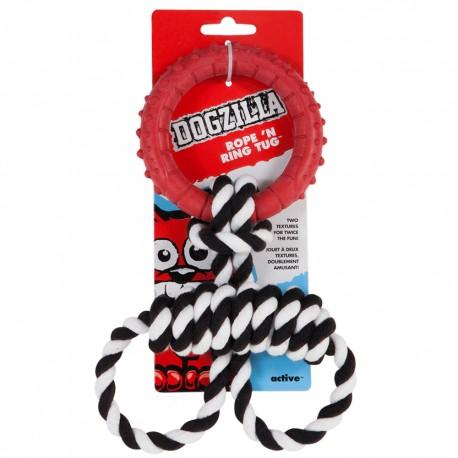 Rope and Ring Tug - Envío Gratis