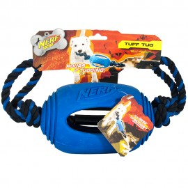Rubber Tug Football Toy