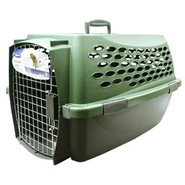 Transportadora Vari Kennel Verde 24""