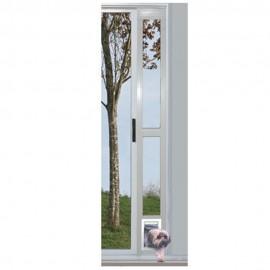 """Puerta Modular de Aluminio Blanca 5"""" x 7"""""""
