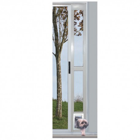 """Puerta Modular de Aluminio Blanca 5"""" x 7"""" - Envío Gratis"""