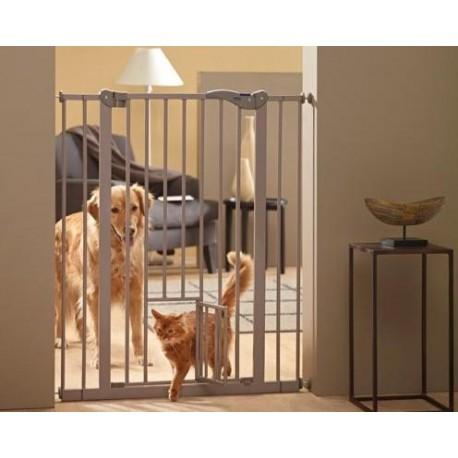 Puerta Corrediza de Restricion c/Puerta para Gato - Envío Gratis