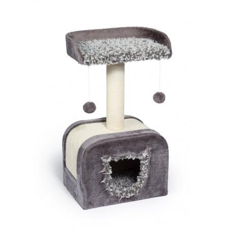 Torre para Gato Kitty Shag Hideaway - Envío Gratis
