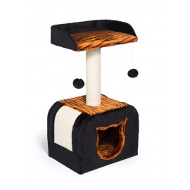 Torre para Gato Kitty Tiger Hideaway