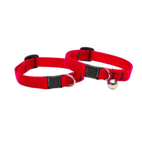 """Collar con Cascabel 1/2"""" Red - Envío Gratis"""
