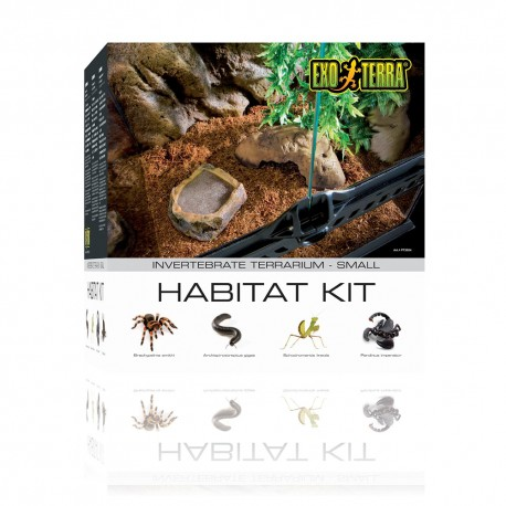 Exo-Terra: Kit Habitat Invertebrados - Envío Gratis