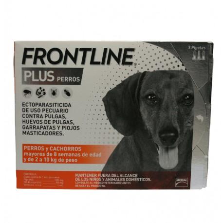 Frontline Plus Perros 3-Pack - Envío Gratis