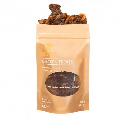 Mutt Chicken Liver Treats - Envío Gratis