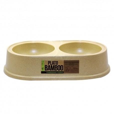 Bowl Bamboo Doble - Envío Gratis